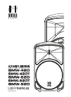 Hill Audio SMW-420T Operation & User's Manual 8 pages