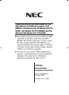 NEC 124i Enhanced Installation Instructions Manual 28 pages
