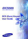 Samsung iDCS500 Operation & User's Manual 80 pages
