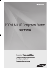 Samsung MXHS9000 Operation & User's Manual 56 pages