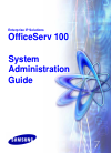 Samsung OFFICESERV 100 Series System Administration Manual 42 pages