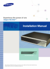 Samsung Ubigate iBG3026 Installation Manual 132 pages