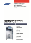 Samsung SCX-82x0 series Service Manual 399 pages